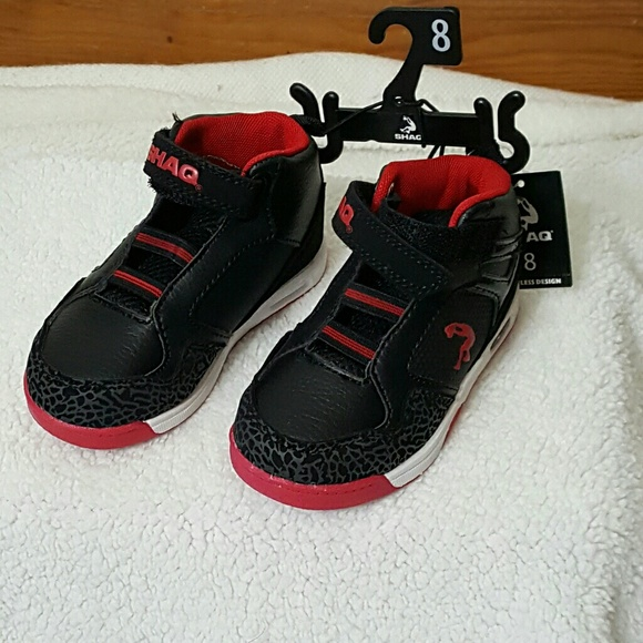 Shaq Other - Boys NWT SHAQ Athletic Laseless Shoes size8